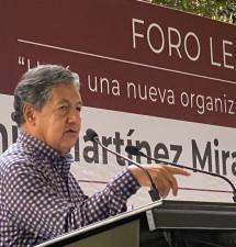 NECESARIO REDUCIR GASTOS INNECESARIOS Y COMBATIR LA CORRUPCIÓN: HIGINIO MARTÍNEZ