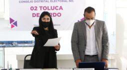 TOMAN PROTESTA A VOCALES DE JUNTAS DISTRITALES Y MUNICIPALES