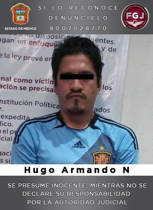 HUGO ASFIXIÓ Y MUTILÓ A SU ESPOSA