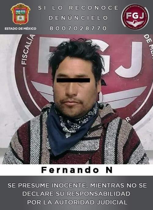 FERNANDO ABUSO DE NIÑA EN EDOMEX