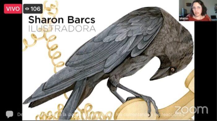 COMPARTE SHARON BARCS VIVENCIAS COMO ILUSTRADORA